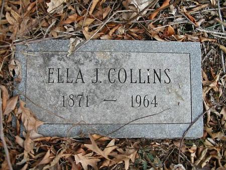 COLLINS, ELLA J. - Van Buren County, Iowa | ELLA J. COLLINS