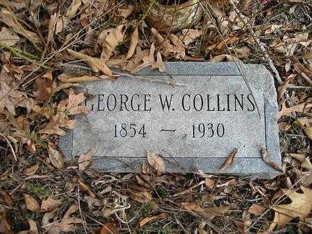 COLLINS, GEORGE W. - Van Buren County, Iowa | GEORGE W. COLLINS