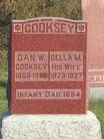 COOKSEY, INFANT DAUGHTER - Van Buren County, Iowa   INFANT DAUGHTER COOKSEY