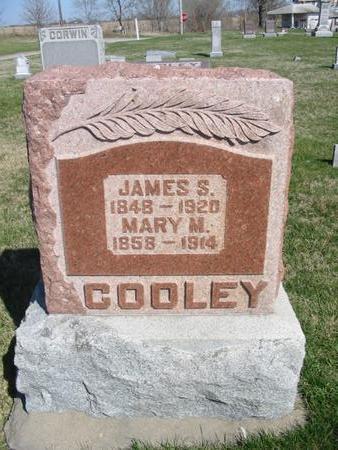 COOLEY, JAMES S. - Van Buren County, Iowa | JAMES S. COOLEY