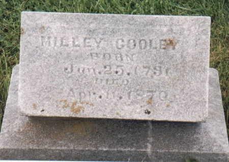 COWDRY COOLEY, MILLEY - Van Buren County, Iowa   MILLEY COWDRY COOLEY
