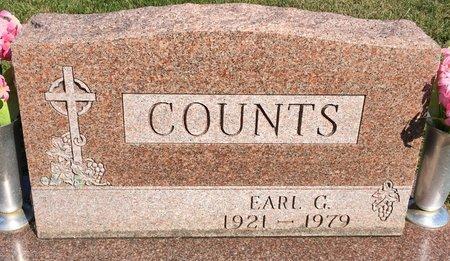 COUNTS, EARL G - Van Buren County, Iowa | EARL G COUNTS