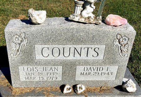 HAMBERG COUNTS, LOIS JEAN - Van Buren County, Iowa | LOIS JEAN HAMBERG COUNTS
