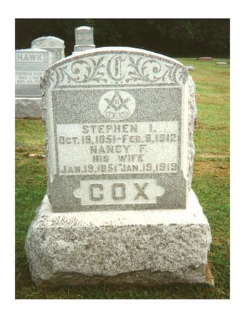 COX, NANCY F - Van Buren County, Iowa | NANCY F COX