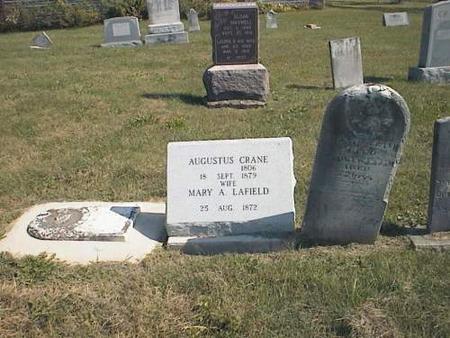 CRANE, AUGUSTUS - Van Buren County, Iowa | AUGUSTUS CRANE