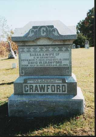 CHAPMAN CRAWFORD, SARAH AMY - Van Buren County, Iowa | SARAH AMY CHAPMAN CRAWFORD