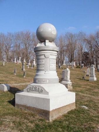 CRESAP, JOHN H. & MARGARET E. - Van Buren County, Iowa | JOHN H. & MARGARET E. CRESAP