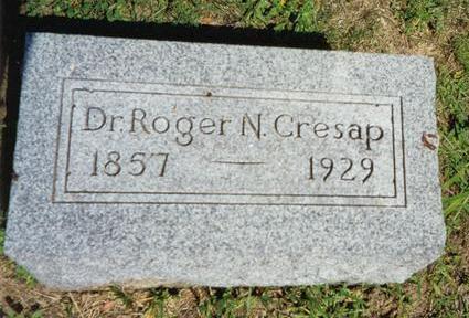 CRESAP, ROGER NELSON - Van Buren County, Iowa | ROGER NELSON CRESAP