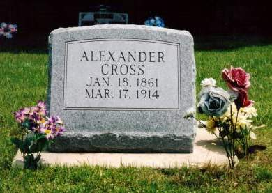 CROSS, ALEXANDER - Van Buren County, Iowa | ALEXANDER CROSS