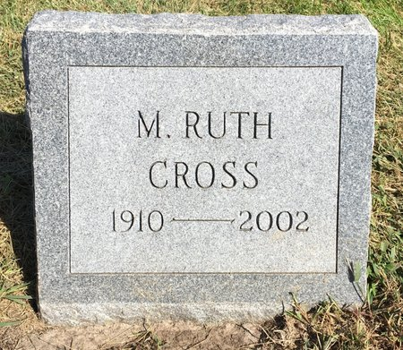 CROSS, M. RUTH - Van Buren County, Iowa | M. RUTH CROSS
