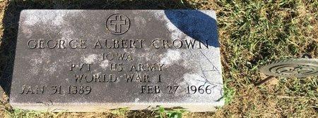 CROWN, GEORGE ALBERT - Van Buren County, Iowa | GEORGE ALBERT CROWN