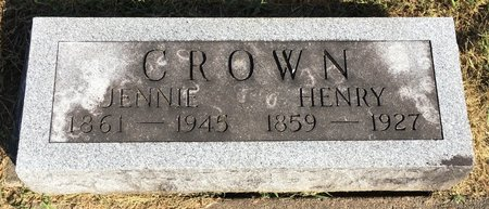 CROWN, HENRY - Van Buren County, Iowa | HENRY CROWN