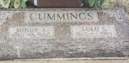 CUMMINGS, LULU S. - Van Buren County, Iowa | LULU S. CUMMINGS