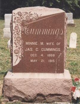 LINEAWEVER CUMMINGS, MINNIE M. - Van Buren County, Iowa | MINNIE M. LINEAWEVER CUMMINGS