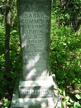 CUMMINS, SARAH - Van Buren County, Iowa   SARAH CUMMINS
