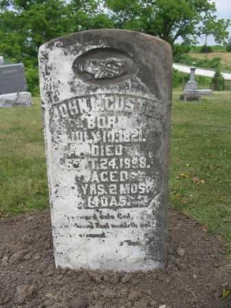 CUSTER, JOHN L. - Van Buren County, Iowa | JOHN L. CUSTER