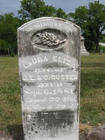 CUSTER, LAURA ELIZA - Van Buren County, Iowa | LAURA ELIZA CUSTER