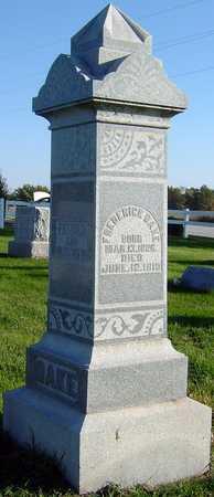 DAKE, CAROLINE - Van Buren County, Iowa | CAROLINE DAKE