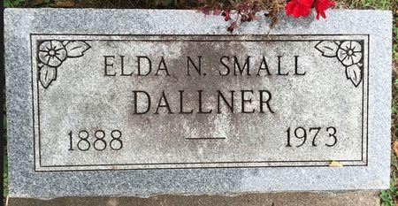 SMALL DALLNER, ELDA N - Van Buren County, Iowa | ELDA N SMALL DALLNER