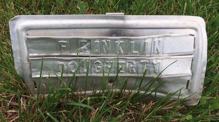 DAUGHERTY, FRANKLIN - Van Buren County, Iowa   FRANKLIN DAUGHERTY