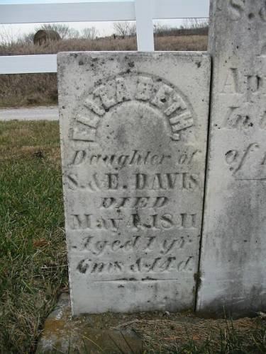 DAVIS, ELIZABETH - Van Buren County, Iowa | ELIZABETH DAVIS