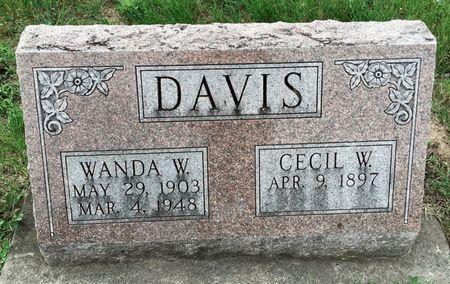 DAVIS, CECIL W - Van Buren County, Iowa | CECIL W DAVIS