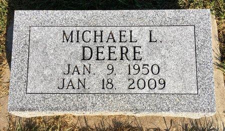 DEERE, MICHAEL L - Van Buren County, Iowa | MICHAEL L DEERE