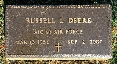DEERE, RUSSELL L - Van Buren County, Iowa | RUSSELL L DEERE