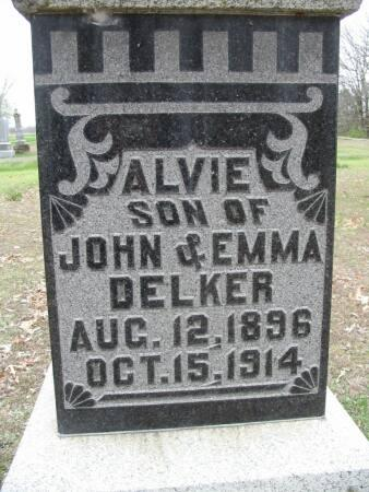 DELKER, ALVIE - Van Buren County, Iowa | ALVIE DELKER