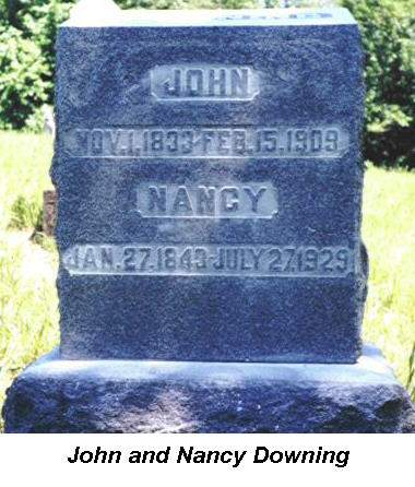 DOWNING, JOHN AND NANCY - Van Buren County, Iowa | JOHN AND NANCY DOWNING