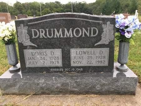 DRUMMOND, DORIS D - Van Buren County, Iowa | DORIS D DRUMMOND