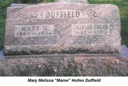 DUFFIELD, CHARLES EDGAR - Van Buren County, Iowa | CHARLES EDGAR DUFFIELD