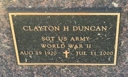 DUNCAN, CLAYTON H - Van Buren County, Iowa | CLAYTON H DUNCAN
