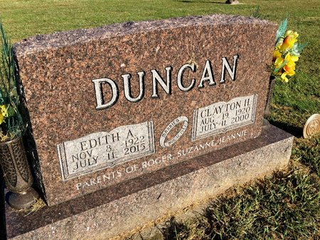DUNCAN, EDITH A - Van Buren County, Iowa | EDITH A DUNCAN