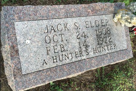 ELDER, JACK S - Van Buren County, Iowa | JACK S ELDER