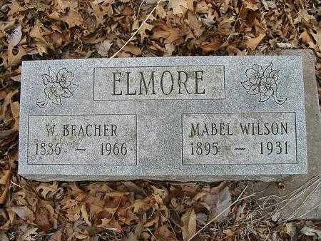 WILSON ELMORE, MABEL - Van Buren County, Iowa | MABEL WILSON ELMORE