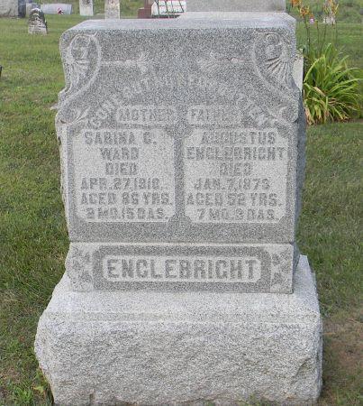 WARD ENGLEBRIGHT, SABINA C - Van Buren County, Iowa | SABINA C WARD ENGLEBRIGHT