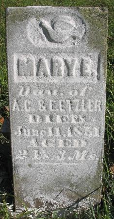 ETZLER, MARY E. - Van Buren County, Iowa | MARY E. ETZLER