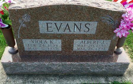 SCHRIEVER EVANS, VIOLA K - Van Buren County, Iowa | VIOLA K SCHRIEVER EVANS