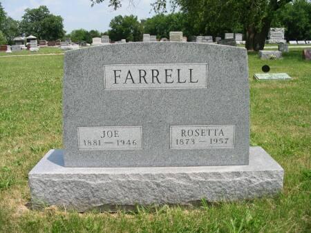 WALMER FARRELL, ROSETTA - Van Buren County, Iowa | ROSETTA WALMER FARRELL