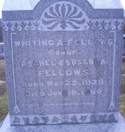 FELLOWS, WHITING A - Van Buren County, Iowa | WHITING A FELLOWS