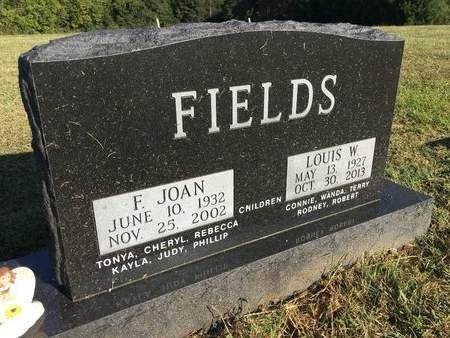 FIELDS, F JOAN - Van Buren County, Iowa | F JOAN FIELDS