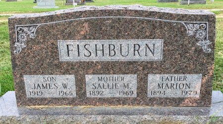 BAILEY FISHBURN, SALLIE M - Van Buren County, Iowa | SALLIE M BAILEY FISHBURN