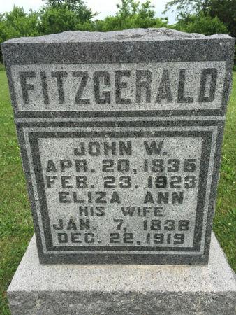FITZGERALD, ELIZA ANN - Van Buren County, Iowa | ELIZA ANN FITZGERALD