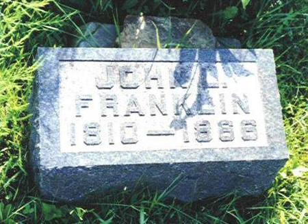 FRANKLIN, JOHN L. - Van Buren County, Iowa | JOHN L. FRANKLIN