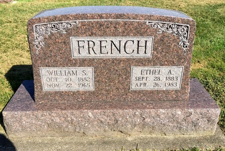 FRENCH, WILLIAM S - Van Buren County, Iowa | WILLIAM S FRENCH