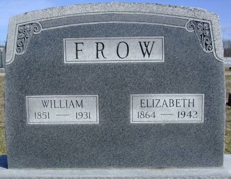 FROW, WILLIAM - Van Buren County, Iowa | WILLIAM FROW