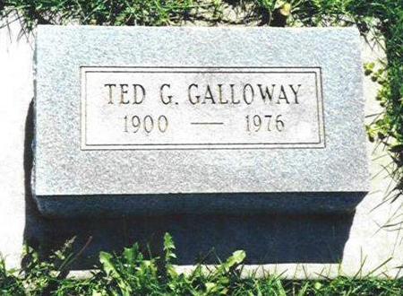 GALLOWAY, TED G. - Van Buren County, Iowa | TED G. GALLOWAY