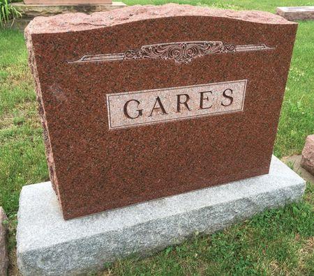 GARES, FAMILY MONUMENT - Van Buren County, Iowa | FAMILY MONUMENT GARES