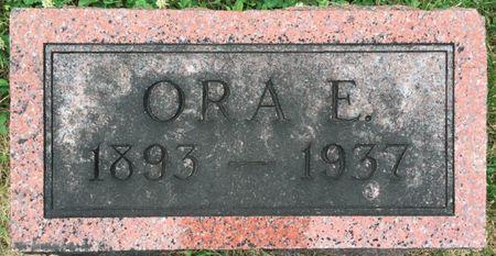 GARES, ORA E - Van Buren County, Iowa | ORA E GARES